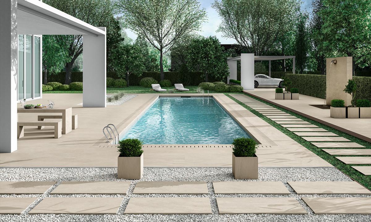 Novabell Norgestone Terrastegel Taupe Outdoor
