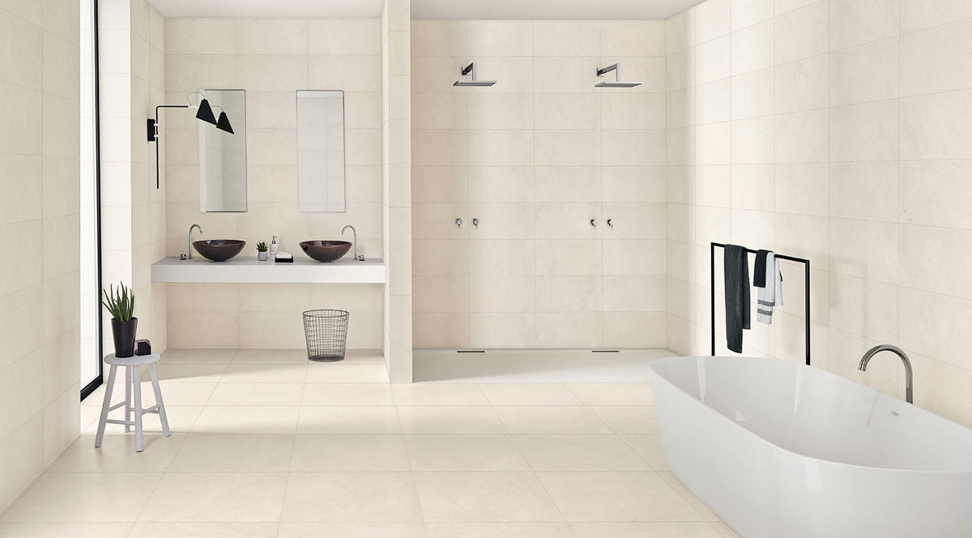 Margres Concept White 60x60 A und 30x60 NR 36CT1NR