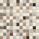 Jasba Senja Pure wood mix metallic 2x2cm 3306