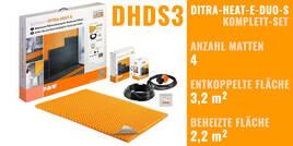 Schlüter DITRA-HEAT-E-DUO-S 0x0cm DHDS3